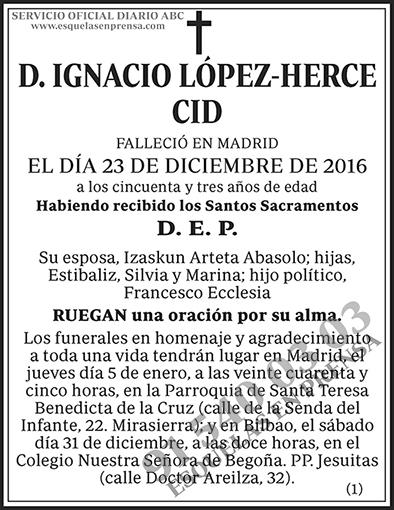 Ignacio López-Herce Cid